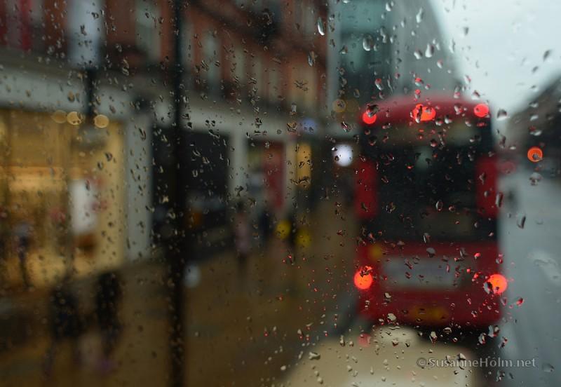 London - still rainy