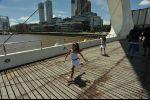 Buenos Aires - twins bridge