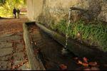 autumn in Ticino - finally a fountain